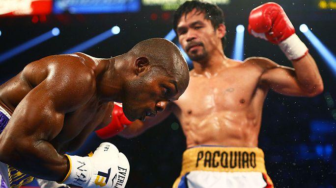 Пакьяо победил Брэдли