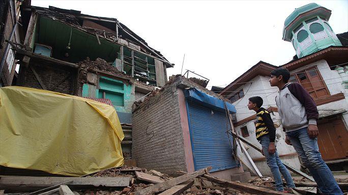 Important tremblement de terre en Afghanistan