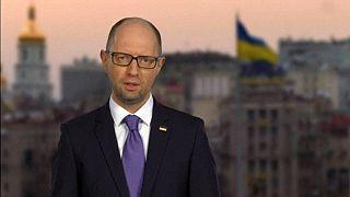 رئيس الوزراء الأوكراني أرسيني ياتسينوك يعلن استقالته