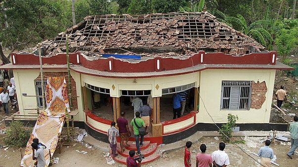 Индия: взрыв пиротехники и пожар в храме привели к массовым жертвам