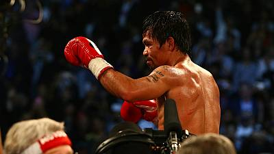 Manny Pacquiao defeats Timothy Bradley in final fight