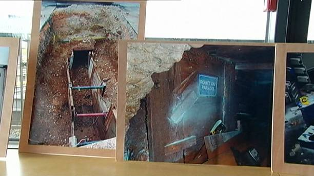 Bank robbers rumbled two years after digging through sewer into vault