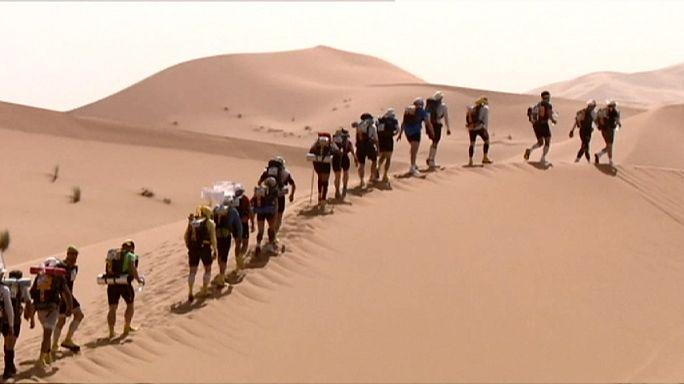Elrajtolt a 31-ik sivatagi Marathon des Sables