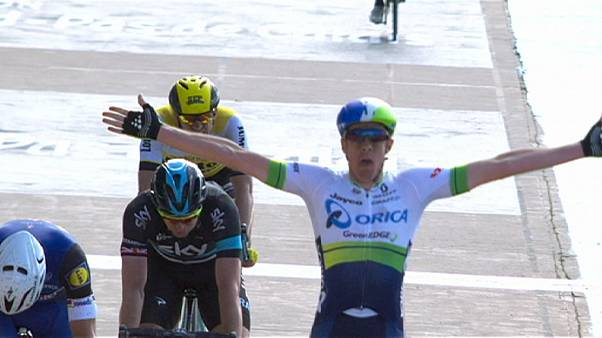 Australian Hayman secures shock Paris-Roubaix victory