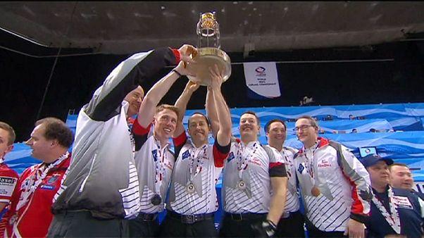 Curling: Canadá vence a Dinamarca em Basileia (5-3)
