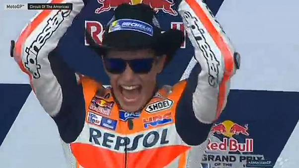 Marc Marquez dominates Grand Prix of the Americas