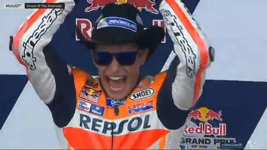 ABD Grand Prix'sini Marc Marquez kazandı