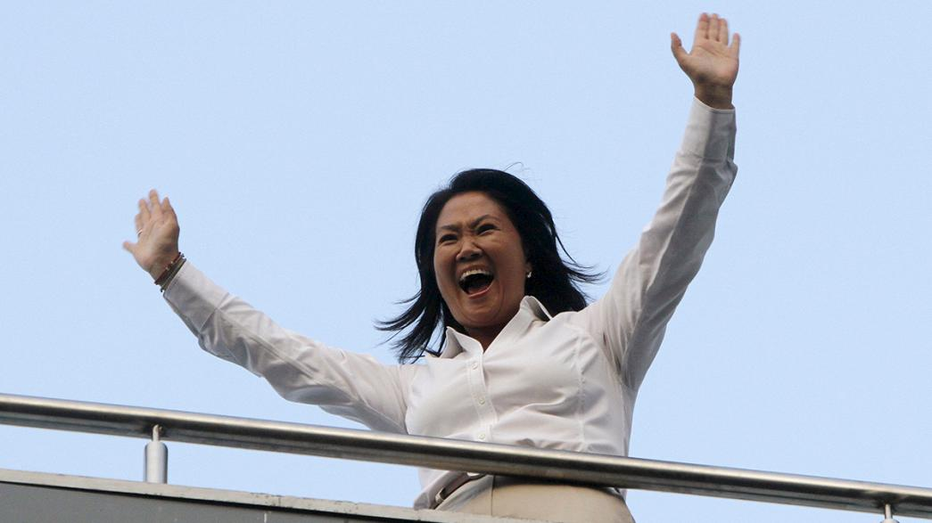 Perú: Fujimori vence primeira volta das presidenciais (projeções)