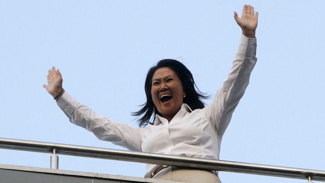 Keiko Fujimori 'wins Peru's presidential first round'