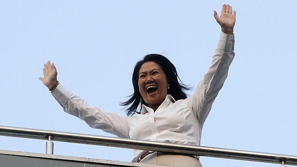 كيكو فوجيموري تفوز بالجولة الأولى للنتخابات الرئاسية في بيرو