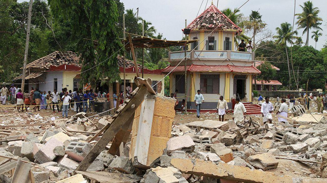 India. Avviata un'inchiesta su incendio al tempio indù in Kerala