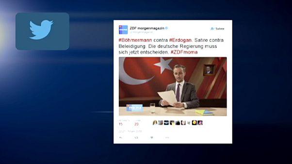 German prosecutors probe TV satirist who 'insulted' Turkey's Erdoğan
