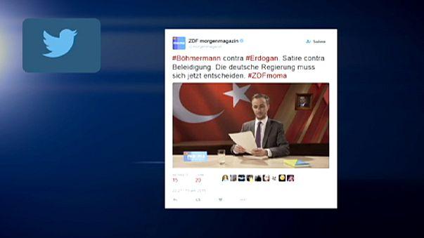 Ankara somme Berlin de poursuivre un humoriste pour avoir injurié Erdogan