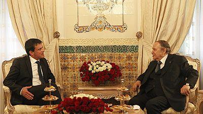 La lutte contre le terrorisme au menu de la rencontre entre Valls et Bouteflika