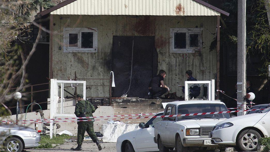 Russland: Angriff auf Polizeistation in Stawropol