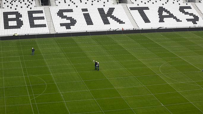 Felavatták a Besiktas új stadionját Isztambulban