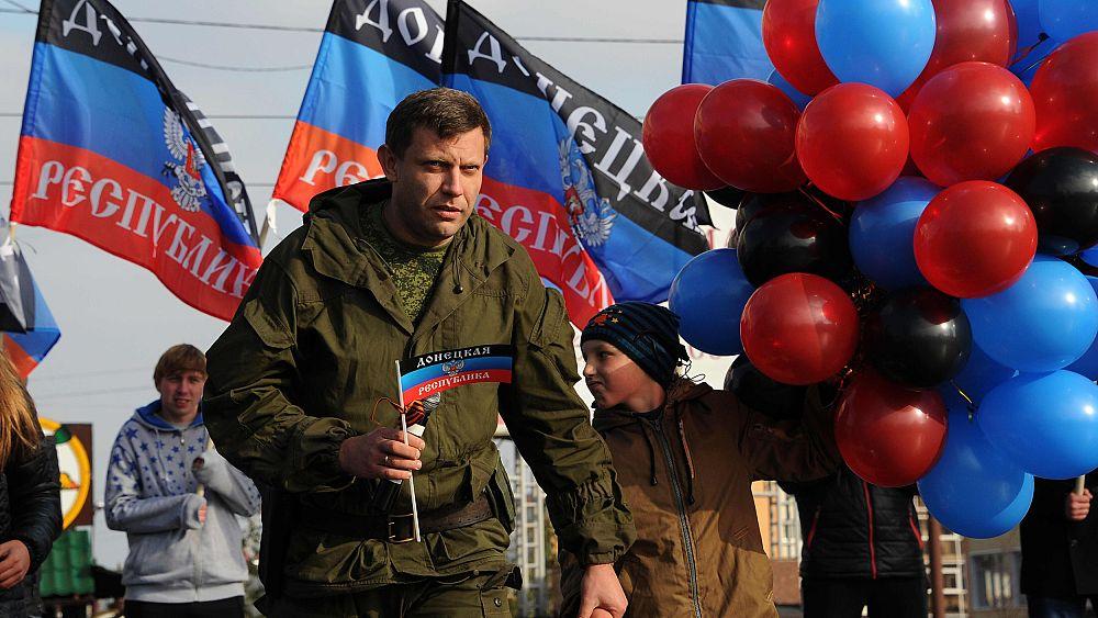 Rebel leader in east Ukraine killed in blast