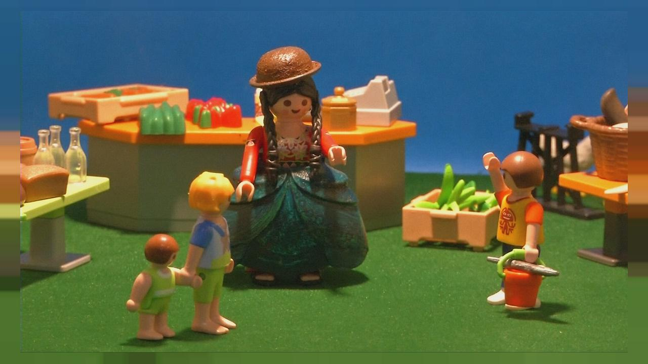"""Cholita Doll"" a Playmobil boliviana"