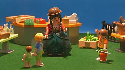 Playmobil figures honoured in Bolivian museum exhibition