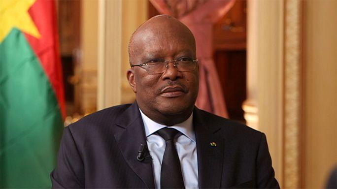 Burkina Faso Cumhurbaşkanı: Teröre karşı Fransa ile beraber çalışılacak