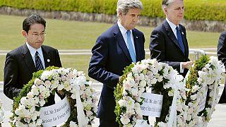 John Kerry en visite à Hiroshima