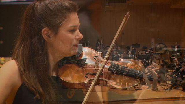 La violoniste Janine Jansen prend son envol à Munich