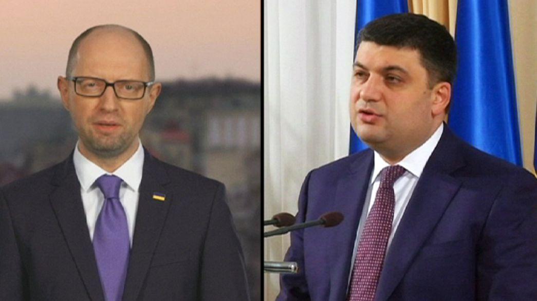 Ucrânia: A crise política depois da demissão de Yatseniuk