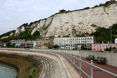 Dover\'s white cliffs are immortalized in song.