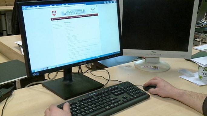 Kibertámadás a litván parlament weboldala ellen