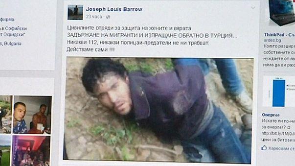 Bulgária: polémica após difusão de vídeo de imigrantes detidos por cidadãos privados