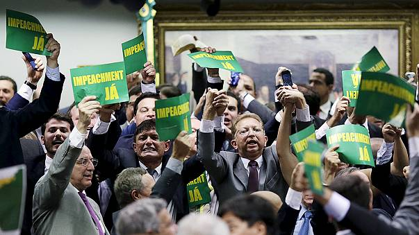 Brazilian committee recommends Rousseff impeachment