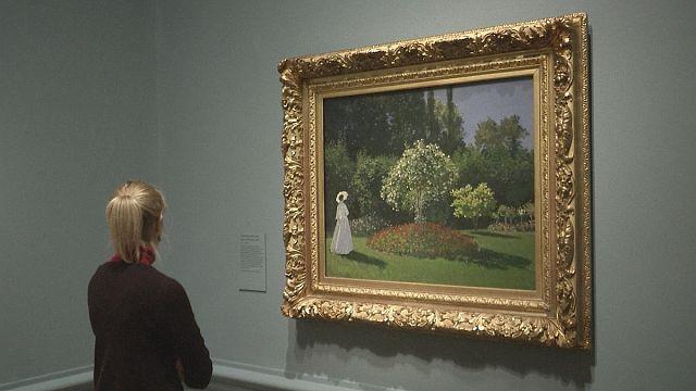 مونيه في معرض الأكاديمية الملكية في لندن