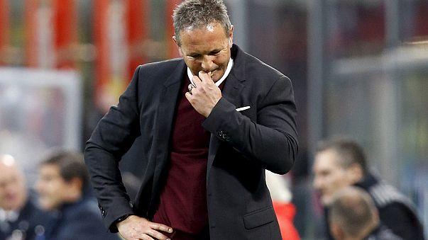 Milan teknik direktör Sinisa Mihajlovic'in görevine son verdi