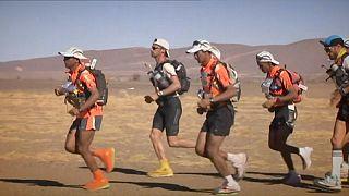 یکه تازی المرابیطی در مسابقات ماراتن صحرایی مراکش