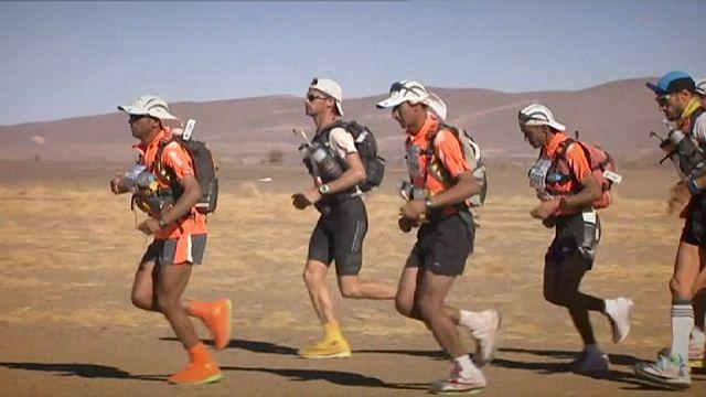 Sables Maratonu'nda üçüncü gün heyecanı