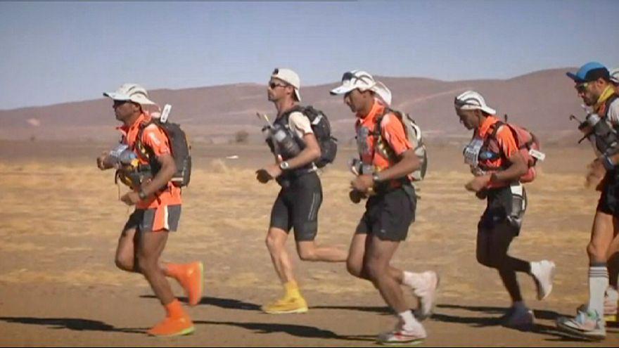 Marathon des Sables : El Morabity et Sedykh font la course en tête
