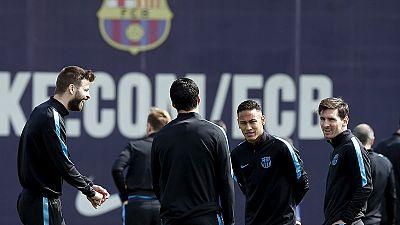 Stuttery Barcelona set for decisive Atletico clash