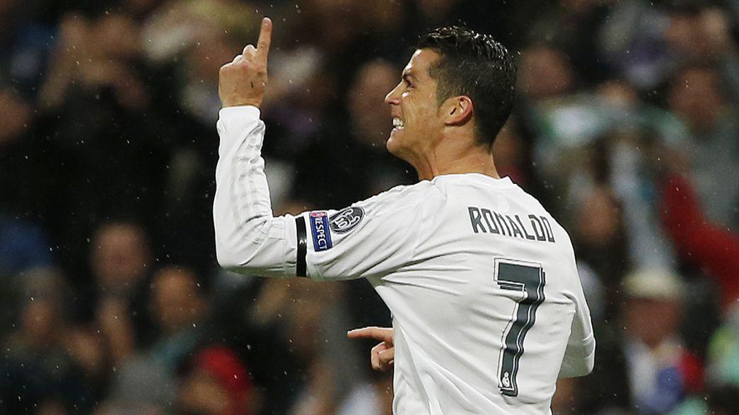 Cristiano Ronaldo logra la remontada y clasifica a el Real Madrid para semifinales de la Liga de Campeones