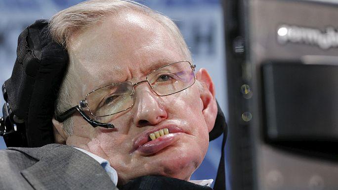 Hawking und Milner wollen mit Miniraumschiffen die Weiten des Weltalls erkunden