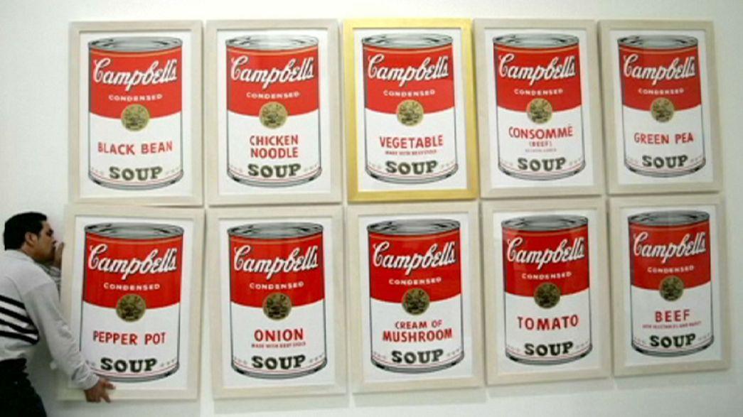 25.000 Dollar Belohnung für sieben gestohlene Warhol-Werke
