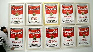 $25,000 reward for stolen Warhol paintings