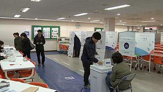 Südkorea wählt neues Parlament