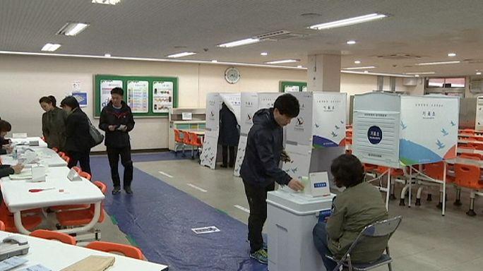 В Южной Корее начались парламентские выборы