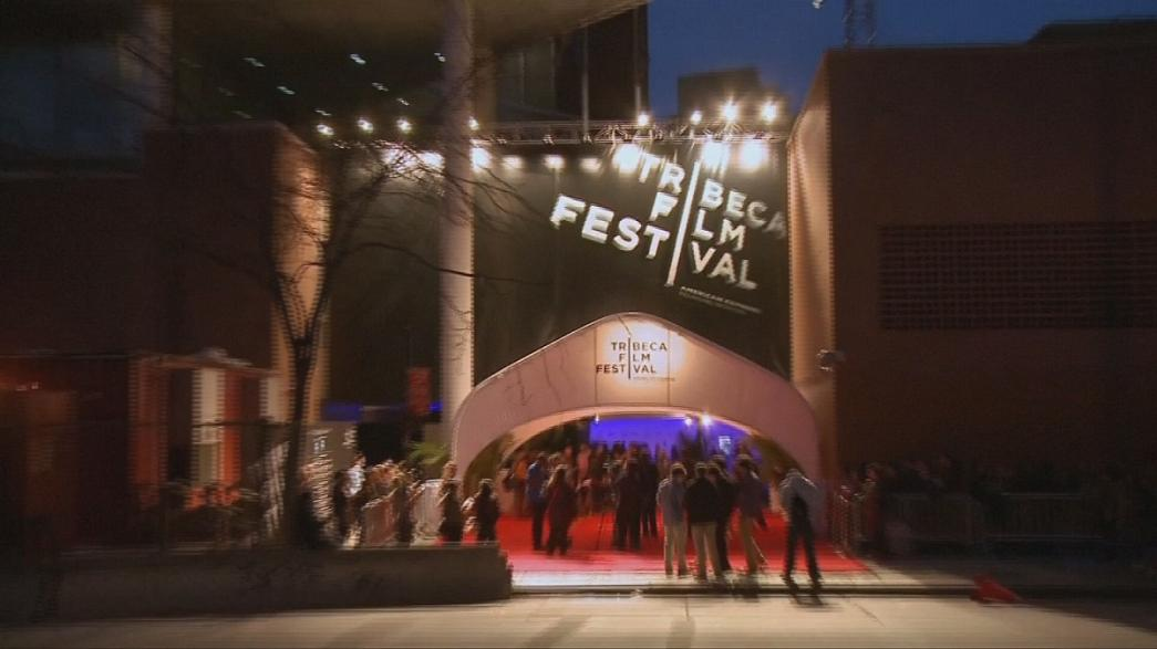 The Tribeca film festival gets underway in New York