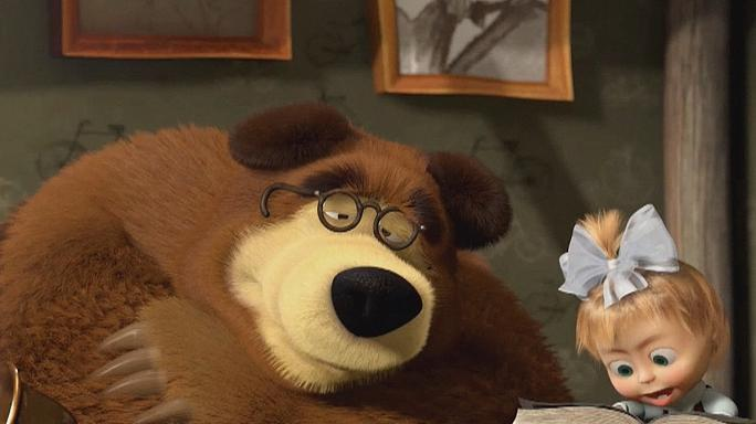 Russian cartoon Masha and the Bear goes viral