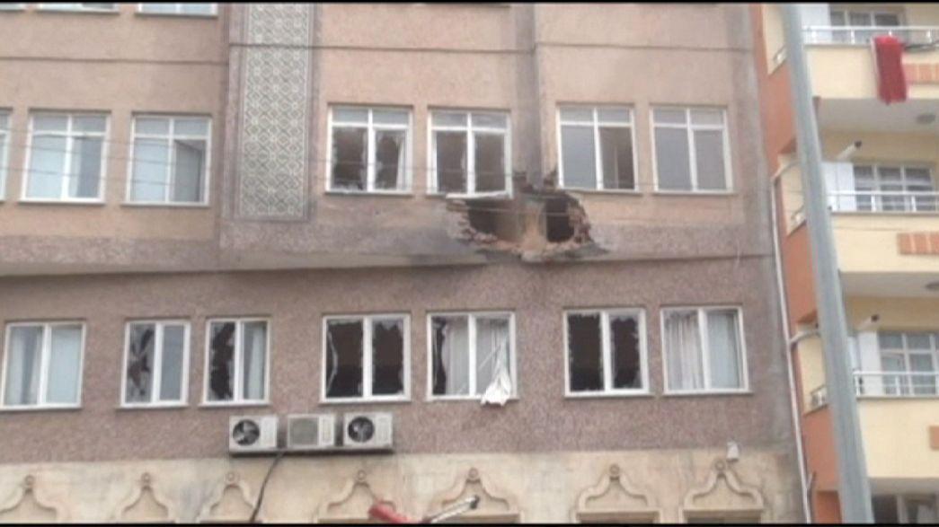 Турецкий город Килис пострадал от ракетных ударов джихадистов