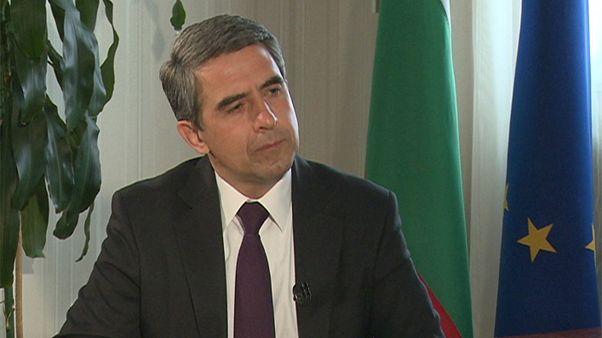 Ο Πρόεδρος της Βουλγαρίας Ρόσεν Πλεβνέλιεφ στο euronews