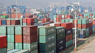 Exporte: China fängt sich