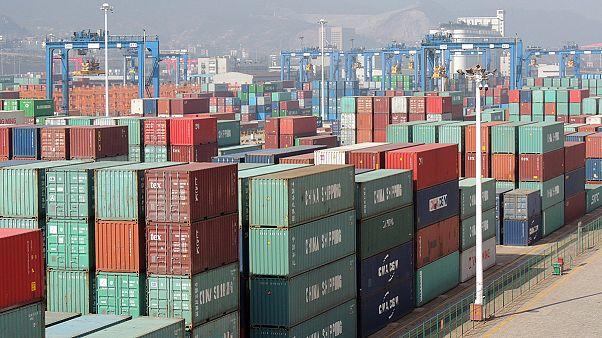 Exportações chinesas retomam crescimento