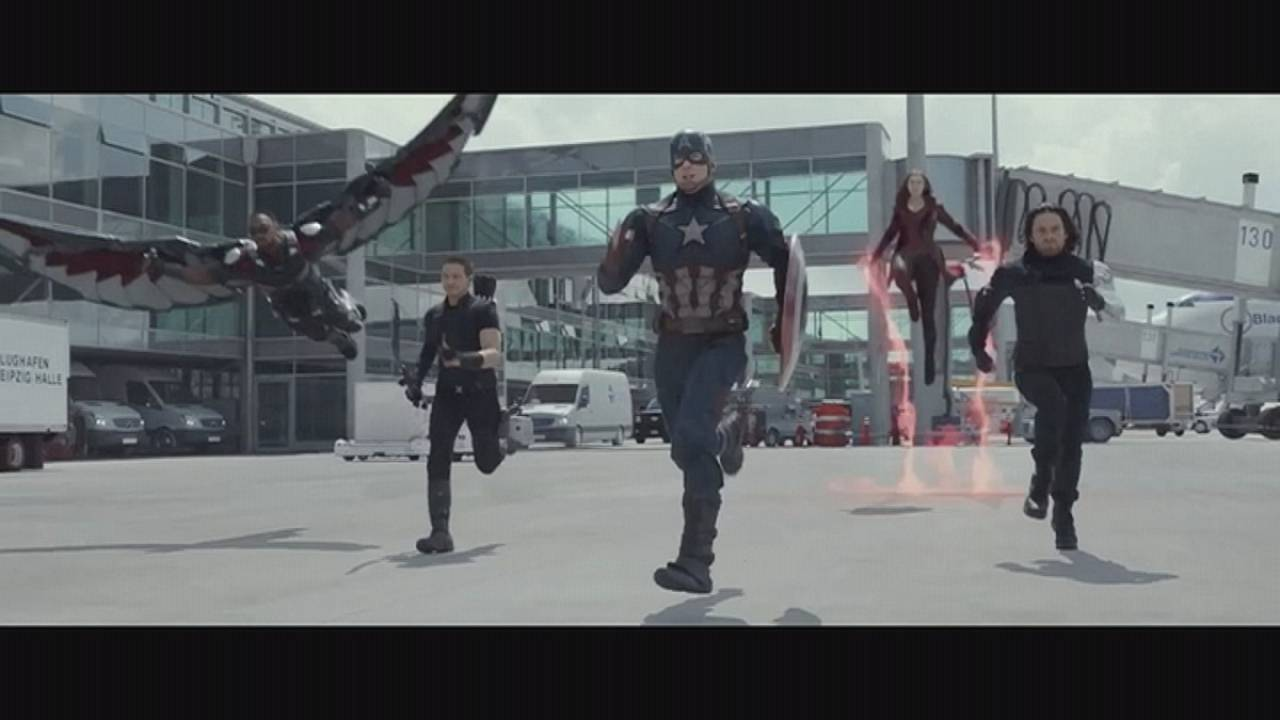 Captain America stars reunite for red carpet premiere